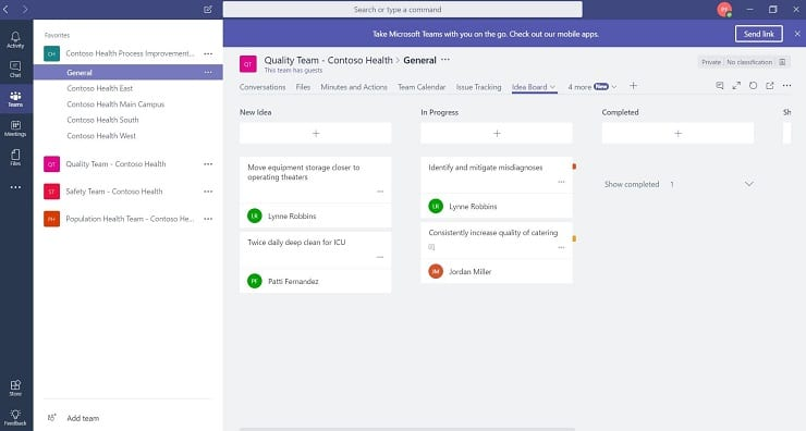 New templates to create huddle solutions in microsoft teams and teams template image showing a general template image maxwellsz