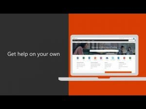 Get help on your own with Office 365 for business