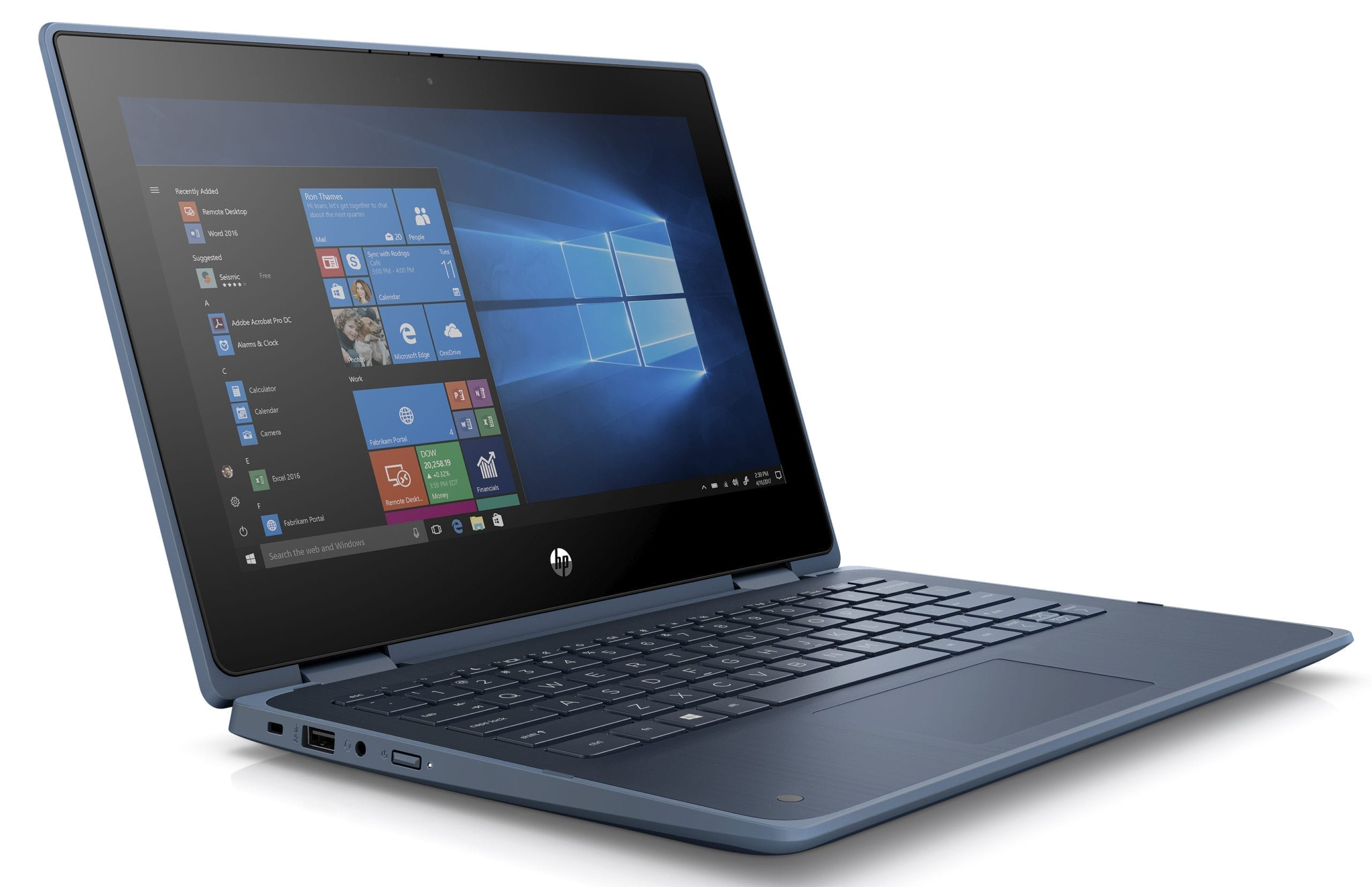 Image of the new HP ProBook x360 11 Education Edition PC.