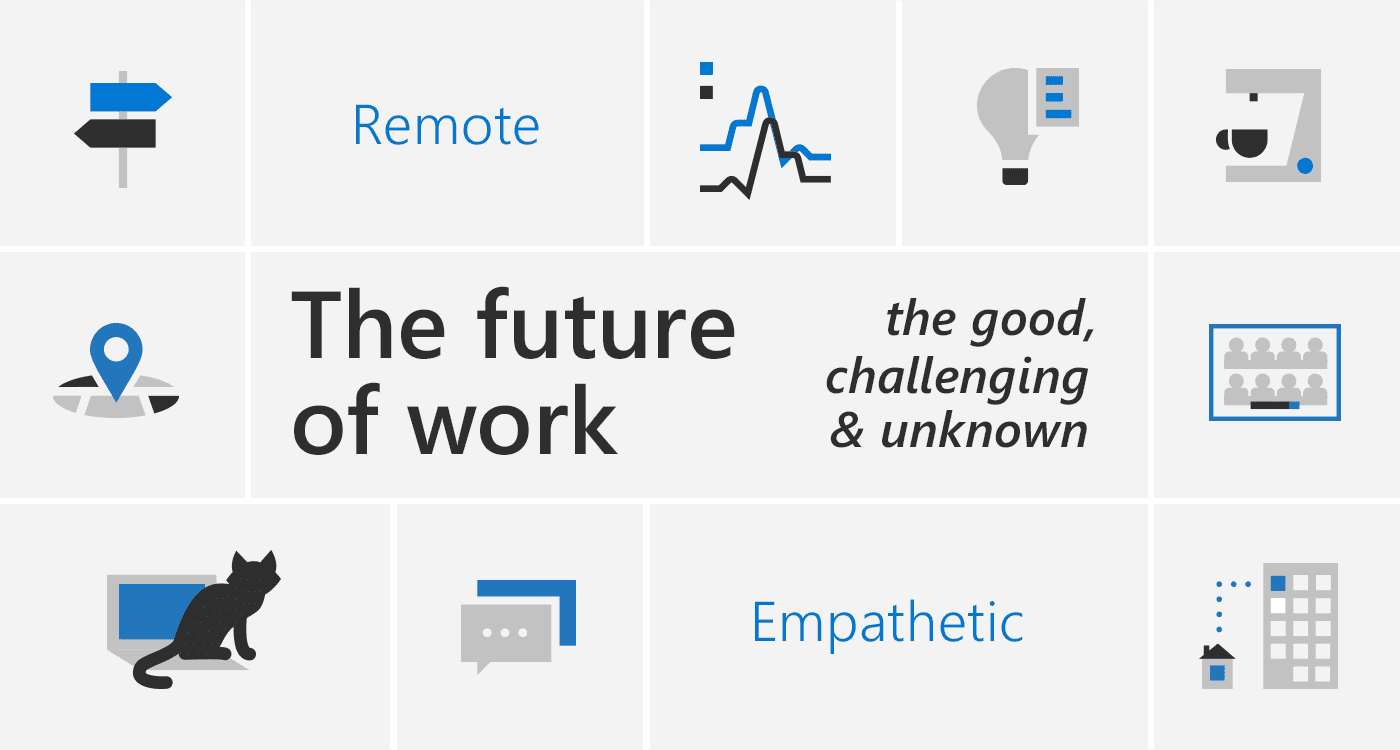The future of work - the good, challenging and the unknown.